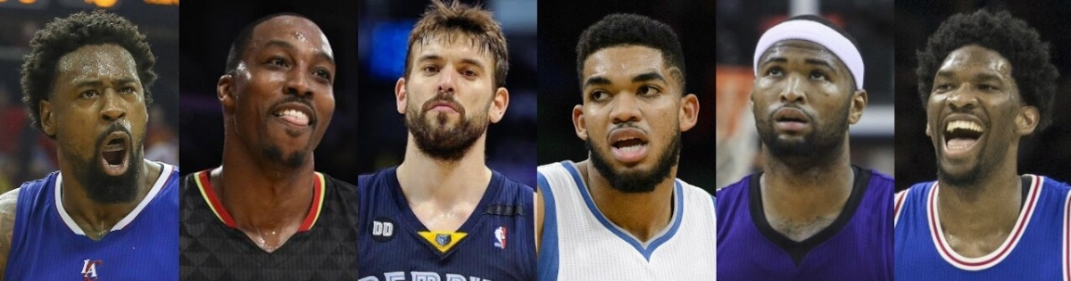 Ranking the Top 5 Centers in the NBA Right Now