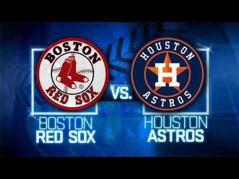ALDS: Boston VS Houston Preview